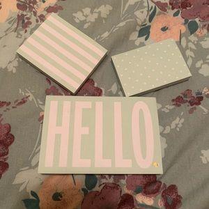 !!!NEW!!! Brand new! Kate Spade Sticky Note Set